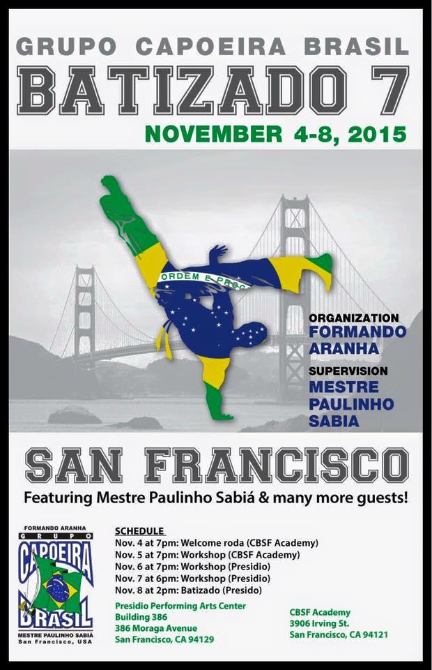Capoeira Brasil San Francisco Batizado 7